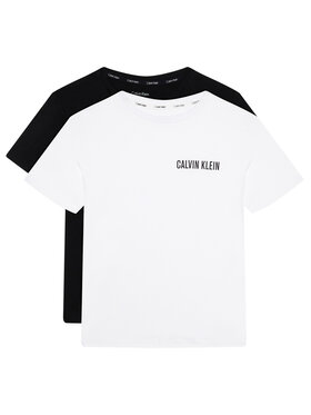 Calvin Klein Underwear Calvin Klein Underwear Set 2 tricouri Tees B70B700286 Colorat Regular Fit