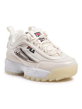 Fila Fila Sneakersy Disruptor Mesh Kids 1011008.79G Béžová