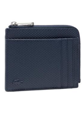 Lacoste Lacoste Portafoglio grande da uomo Zip Around Cc Wallet NH2823CE Blu scuro
