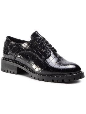 Eva Minge Eva Minge Oxford Schuhe EM-21-08-000872 Schwarz