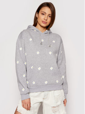 Local Heroes Local Heroes Sweatshirt Daisy Printed SS21S0016 Gris Regular Fit