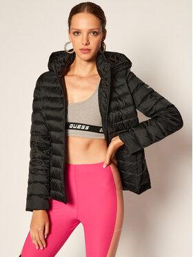 Calvin Klein Calvin Klein Vatovaná bunda Coated Light Down K20K201696 Černá Regular Fit