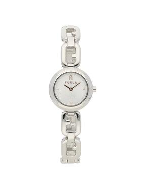 Furla Furla Zegarek Arco Chain WW00015-MT0000-AR000-1-003-20-CN-W Srebrny