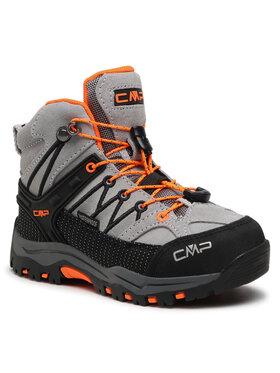 CMP CMP Туристически Kids Rigel Mid Trekking Shoe Wp 3Q12944 Сив