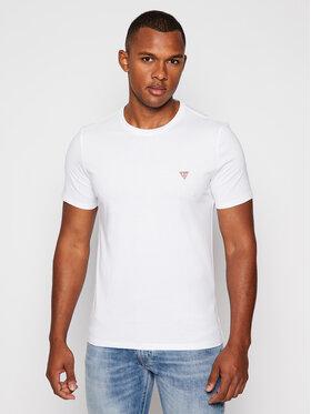 Guess Guess T-Shirt M0BI36 I3Z11 Biały Slim Fit