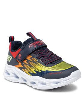 Skechers Skechers Sneakersy Zorent 400600L/NVMT Granatowy