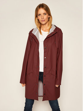 Rains Rains Giacca impermeabile Unisex Essential 1202 Bordeaux Regular Fit