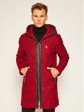 Rage Age Rage Age Wollmantel Cold Blood M2 Rot Regular Fit