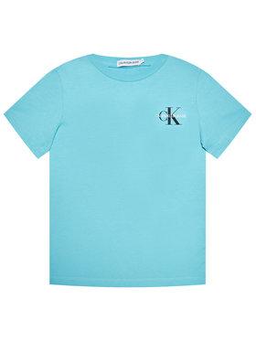 Calvin Klein Jeans Calvin Klein Jeans Marškinėliai Chest Monogram IB0IB00612 Mėlyna Regular Fit