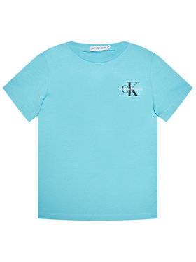 Calvin Klein Jeans Calvin Klein Jeans Tricou Chest Monogram IB0IB00612 Albastru Regular Fit
