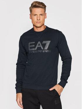EA7 Emporio Armani EA7 Emporio Armani Bluza 6KPM60 PJ05Z 1578 Granatowy Regular Fit