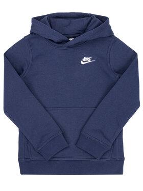 Nike Nike Mikina Club BV3757 Tmavomodrá Standard Fit