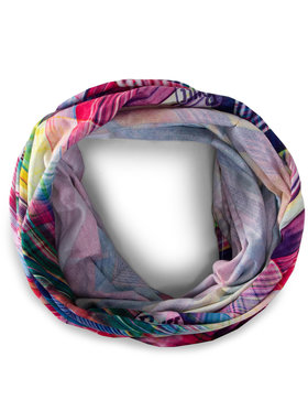 Buff Komínový šál Coolnet UV + 122514.555.10.00 Ružová