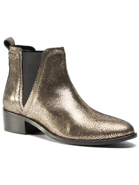 Pepe Jeans Pepe Jeans Členková obuv s elastickým prvkom Chiswick Rt PLS50389 Zlatá