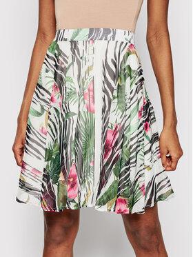 Guess Guess Mini suknja W1GD0Q WDW52 Zelena Regular Fit