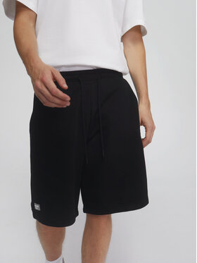 Sprandi Sprandi Sportske kratke hlače SS21-SHM004 Crna Regular Fit