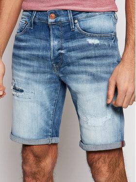 Jack&Jones Jack&Jones Pantaloni scurți de blugi Rick 12171883 Albastru Regular Fit
