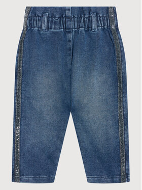 United Colors Of Benetton United Colors Of Benetton Jeansy 49BP55FZ0 Granatowy Regular Fit