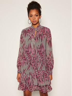 Guess Guess Sukienka codzienna Flounce W0BK96 W8SL2 Kolorowy Shirt Fit