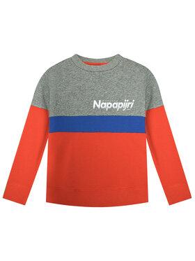 Napapijri Napapijri Sweatshirt Baloy NP0A4E S Rot Regular Fit