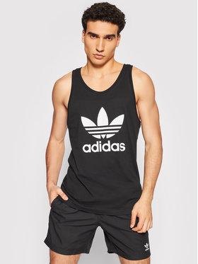 adidas adidas Tank top marškinėliai adicolor Classics Trefoil H06634 Juoda Regular Fit
