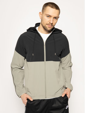 Under Armour Under Armour Giacca di transizione Ua Recover Woven Warm-Up 1348196 Grigio Loose Fit