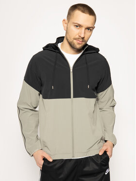 Under Armour Under Armour Übergangsjacke Ua Recover Woven Warm-Up 1348196 Grau Loose Fit