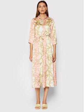 Rinascimento Rinascimento Košilové šaty CFC0103055003 Barevná Regular Fit