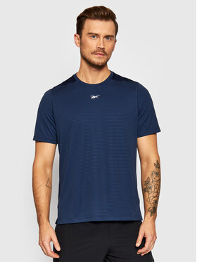 Reebok Reebok Technisches T-Shirt Sweatshift Move GN9098 Dunkelblau Slim Fit