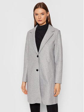 Vero Moda Vero Moda Palton Paula 0248801 Gri Regular Fit