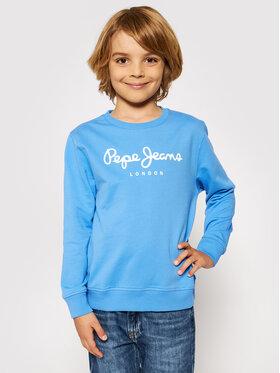 Pepe Jeans Pepe Jeans Džemperis Adam PB581323 Mėlyna Regular Fit