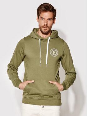 Rage Age Rage Age Sweatshirt Hoodie 1 Vert Slim Fit