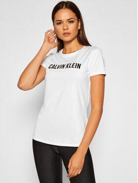 Calvin Klein Performance Calvin Klein Performance T-Shirt 00GWF0K168 Biały Regular Fit
