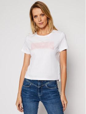 Guess Guess T-Shirt Adria Tee W1RI05 JA900 Biały Regular Fit