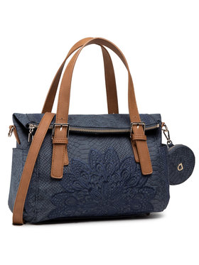 Desigual Desigual Τσάντα 21SAXPCZ Σκούρο μπλε