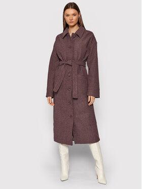 NA-KD NA-KD Зимно палто 1018-007341-0212-581 Бордо Regular Fit