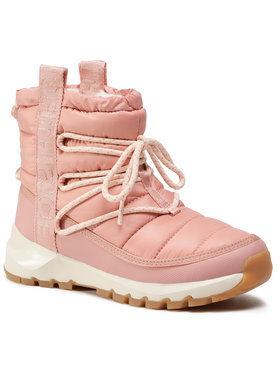 The North Face The North Face Śniegowce Thermoball Lace Up NF0A4AZGVCJ Różowy