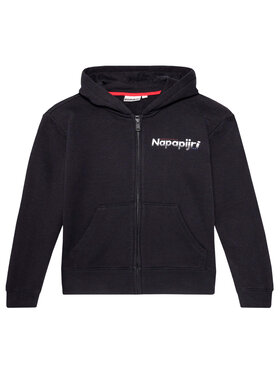 Napapijri Napapijri Sweatshirt K Baloy Fzh NP0A4EQ5 D Schwarz Regular Fit