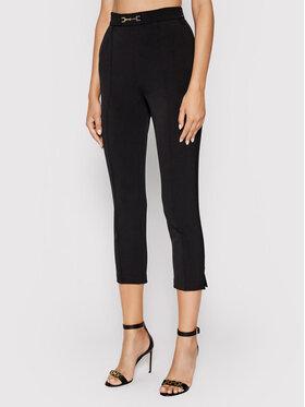 Elisabetta Franchi Elisabetta Franchi Текстилни панталони PA-384-16E2-V200 Черен Slim Fit
