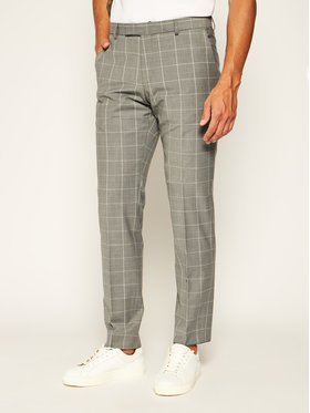Strellson Strellson Pantaloni de costum 11 Mercer2.012 30020634 Gri Slim Fit