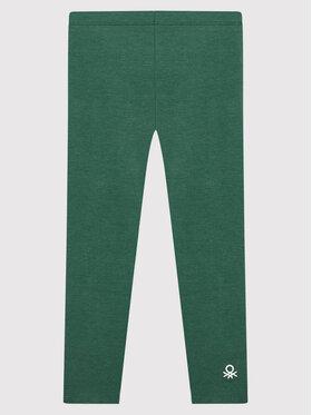 United Colors Of Benetton United Colors Of Benetton Legginsy 3MT1I0019 Zielony Slim Fit