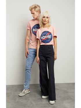 Vistula Vistula T-Shirt Unisex David Bowie 8 XA1342 Różowy Regular Fit