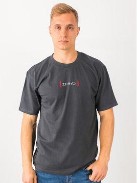 Edwin Edwin T-Shirt Aurora Ts I026752 TH442M4 EBN67 Szary Regular Fit