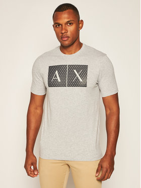 Armani Exchange Armani Exchange T-Shirt 8NZTCK Z8H4Z 3929 Šedá Slim Fit