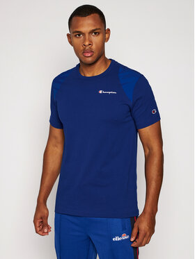Champion Champion T-Shirt Rochester 214862 Modrá Comfort Fit