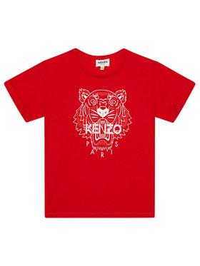 Kenzo Kids Kenzo Kids Tricou K15086 S Roșu Regular Fit
