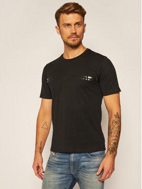 Pierre Cardin Pierre Cardin T-Shirt 52270/000/2276 Černá Modern Fit