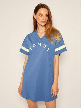 TOMMY HILFIGER TOMMY HILFIGER Φόρεμα καθημερινό UW0UW01942 Μπλε Regular Fit