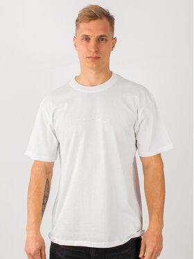 Edwin Edwin Marškinėliai Katakana Embroidery Ts I026745 TH372M4 02TT Balta Regular Fit