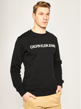 Calvin Klein Jeans Calvin Klein Jeans Džemperis 201360040 Juoda Regular Fit